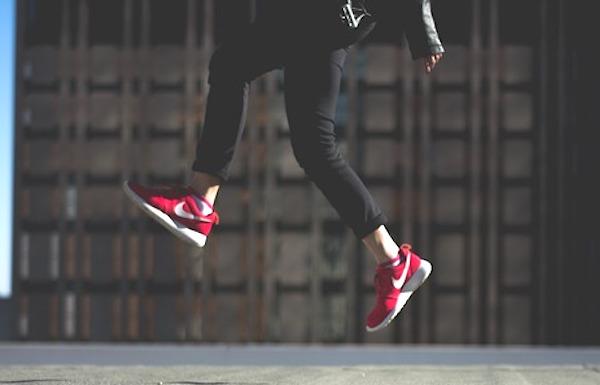 気に入っている靴を履く